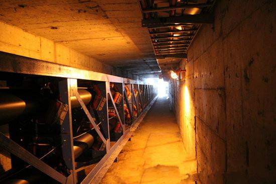 输煤廊道堵漏