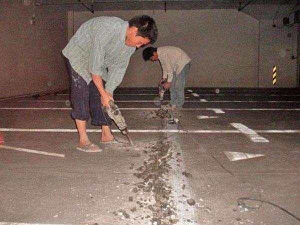 地下室堵漏施工时ying如何bi免更大的sunshi