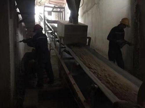 輸煤廊道堵漏
